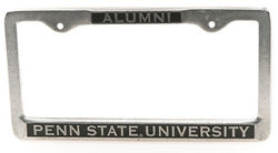 Penn State Alumni Pewter License Plate Frame