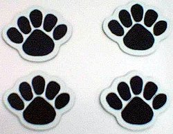 "Penn State Car Magnets Mini Paw Set - 1.5"" x 1.5"""