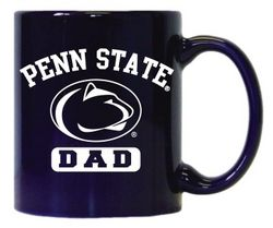 Penn State Dad Mug Arching Over Lion