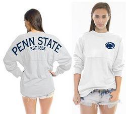 Penn State Est 1855 Spirit Shirt White