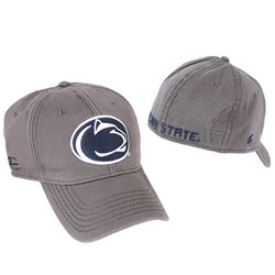 Penn State Fitted Hat Charcoal Lion Head