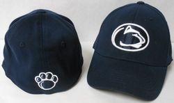 Penn State Flex Fit Hat Paw On Back