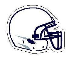 Penn State Helmet Magnet 8 Inch