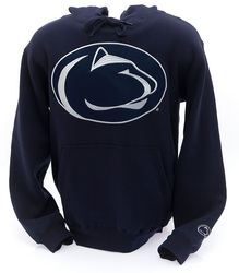 Penn State Hooded Embroidered Sweatshirt Lion Head Navy