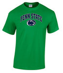 Penn State Irish Green T-Shirt Arching Over Lion