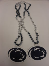 Penn State Lion Head Beads 2 Pack