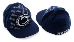 Penn State Nittany Lions Fitted Hat Navy