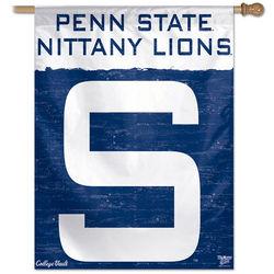 Penn State Nittany Lions Flag Block S