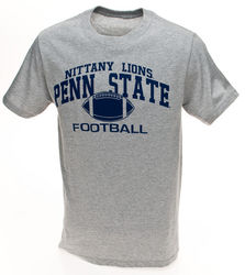 Penn State Nittany Lions Football T-Shirt Gray