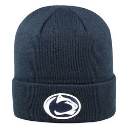 Penn State Nittany Lions Knit Hat Cuffed Navy