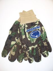 Penn State Nittany Lions Work Gloves Camo