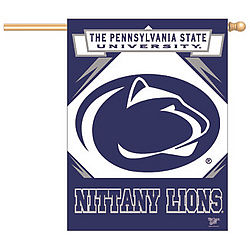 "Penn State Oval Lion Vertical Flag 27"" x 37"""