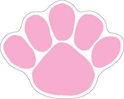 Penn State Paw Magnet Pink