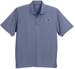Penn State Performance Golf Shirt Micro Melange Heather Blue