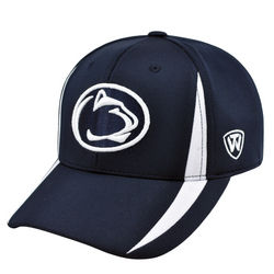 Penn State Performance Hat Navy With White