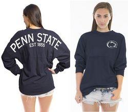 Penn State Spirit Shirt Navy Est 1855