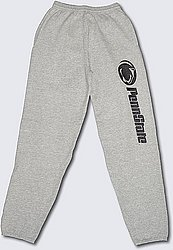 Penn State Sweatpants Down The Leg Gray