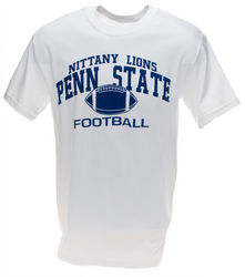Penn State T-Shirt Nittany Lions Football White