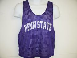 Penn State Tank Top Purple Lacrosse Style Arching