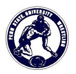 Penn State University Wrestling 6 Inch Magnet