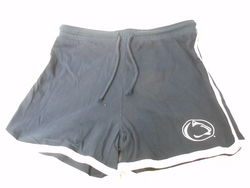 Penn State Womens Shorts Navy White Trim