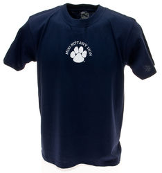 Penn State Youth T-Shirt Navy Mini Nittany Lion
