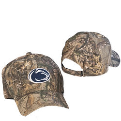 Penn State Nittany Lions Camo Hat Lion Head