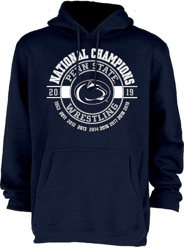 Blue 84 Penn State Wrestling 2019 National Champs Legacy Hooded Sweatshirt Nittany  Lions (PSU) 544eb7a03