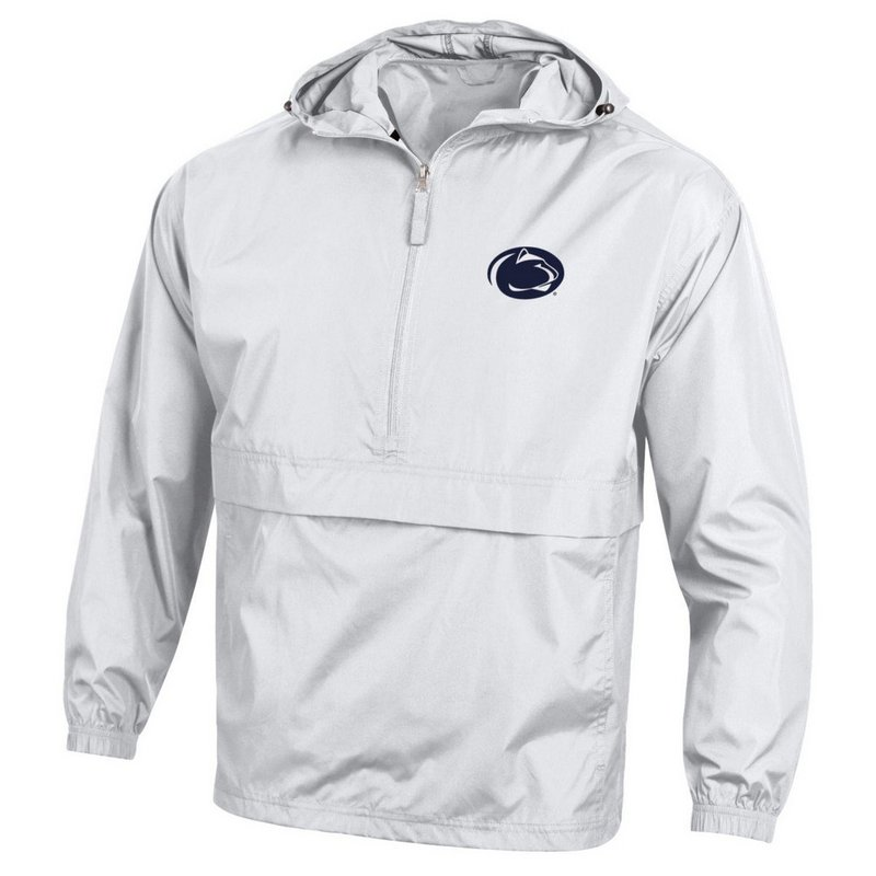 Champion Penn State Nittany Lions Champion Pack 'N' Go Jacket White Nittany Lions (PSU) (Champion )