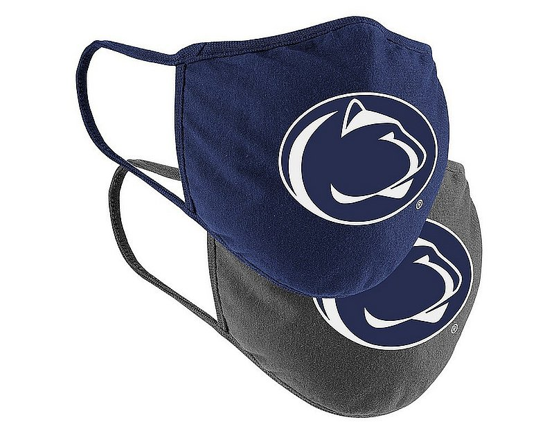 Colosseum Penn State Youth 2 Pack Cloth Face Masks Nittany Lions (PSU) (Colosseum)