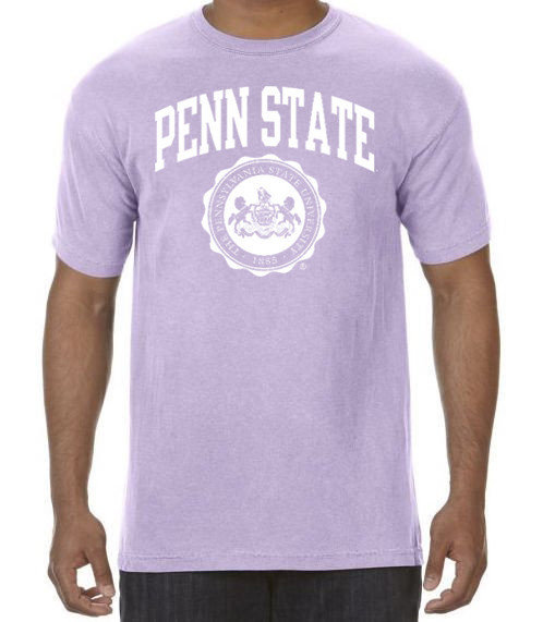 Comfort Colors Penn State Official Seal Orchid Comfort Colors Tee Nittany Lions (PSU) (Comfort Colors)