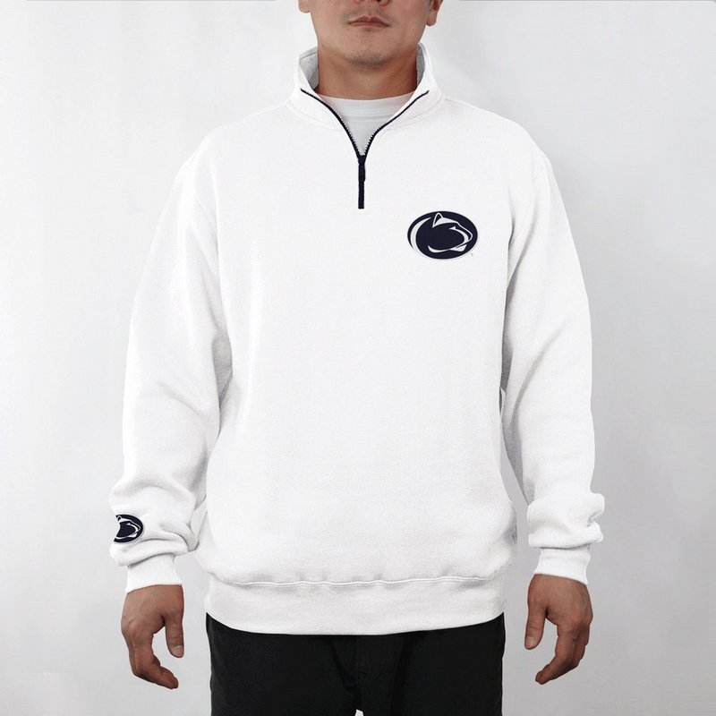 E5 Penn State Nittany Lions Campus 1/4 Zip Fleece Pullover Nittany Lions (PSU) (E5)