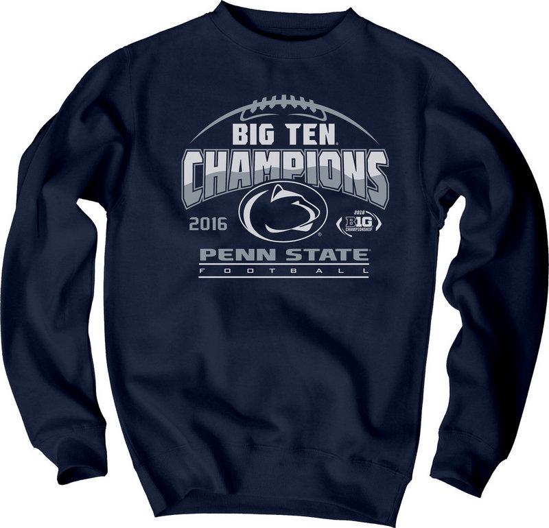 Locker Room Penn State Football Big Ten Champs Crewneck Sweatshirt 2016 Nittany Lions (PSU) 000000000PGFR (Locker Room)