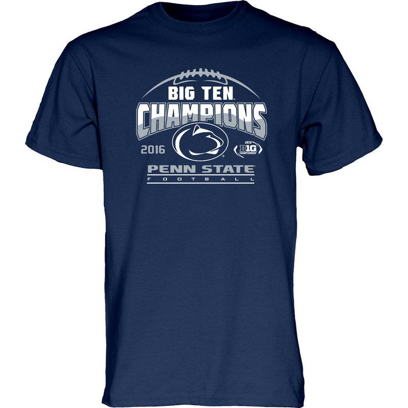 Locker Room Penn State Football Big Ten Champs Tshirt 2016 Nittany Lions (PSU) 000000000PGFR (Locker Room)