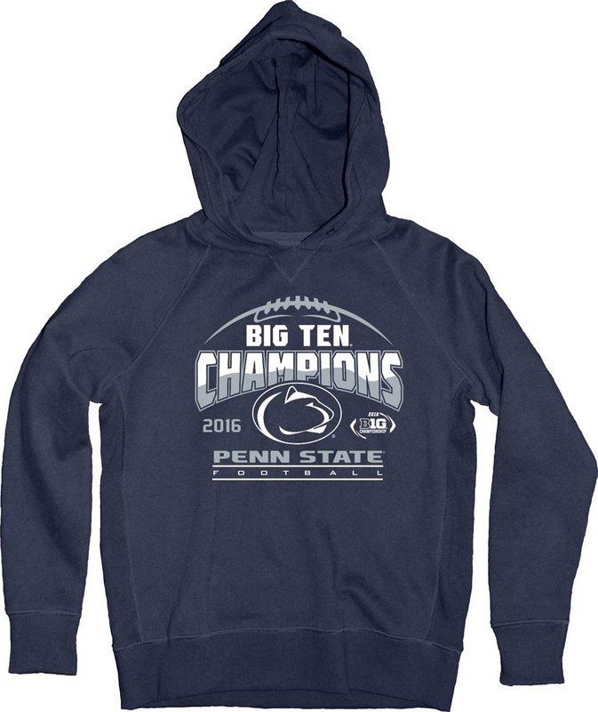 Locker Room Penn State Football Big Ten Champs Youth Hooded Sweatshirt Navy 2016 Nittany Lions (PSU) 000000000PGFR (Locker Room)