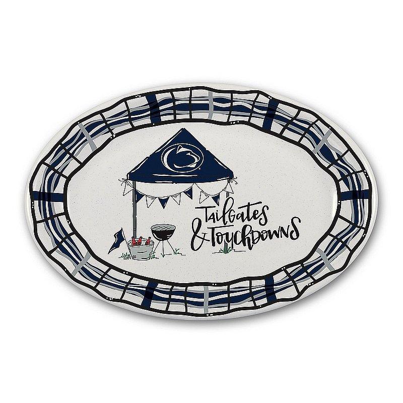Magnolia Lane Penn State Nittany Lions Tailgates & Touchdowns Serving Platter Nittany Lions (PSU) (Magnolia Lane)
