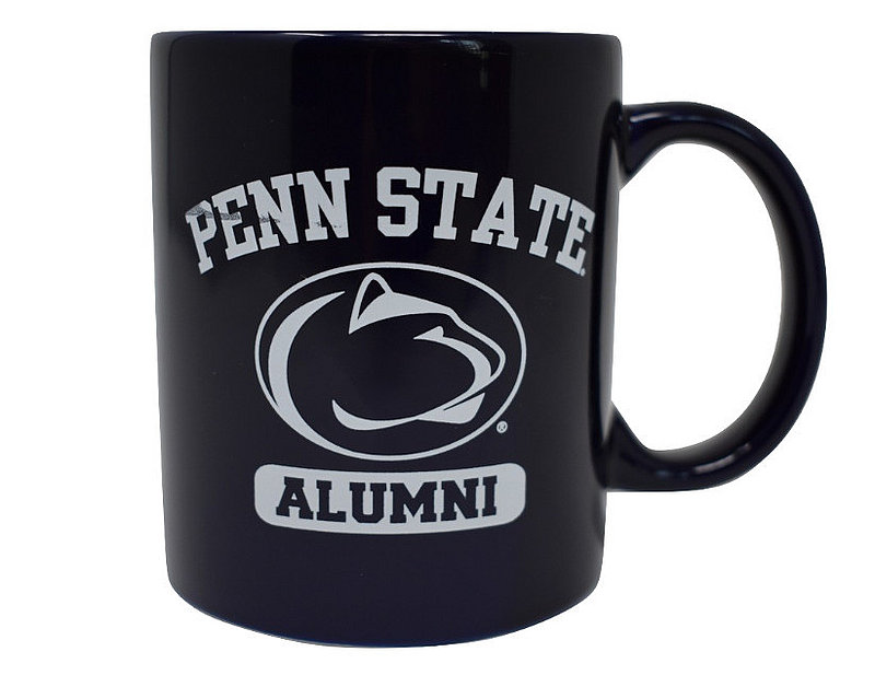 Navy Penn State Alumni Mug with Lion Head Nittany Lions (PSU)