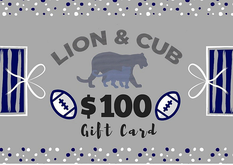 Penn State $100 Gift Card Nittany Lions (PSU)