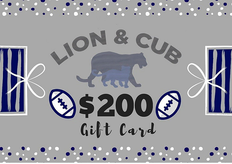 Penn State $200 Gift Card Nittany Lions (PSU)