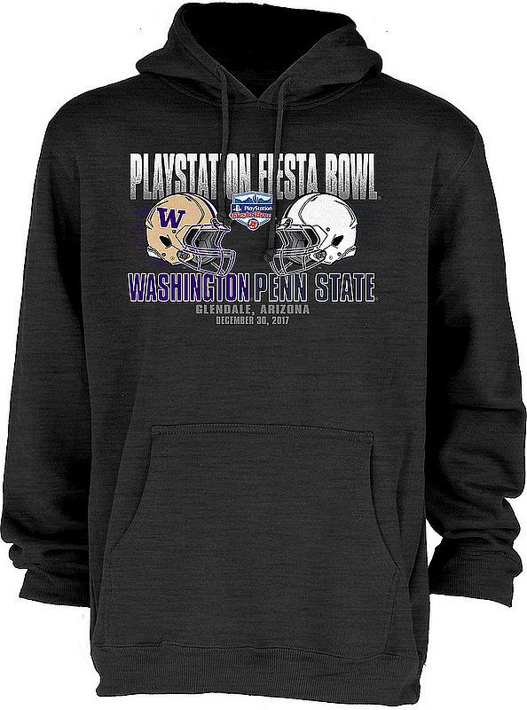 Penn State 2017 Fiesta Bowl Dueling Helmet Dark Heather Hood Nittany Lions (PSU)