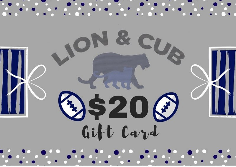 Penn State $20.00 Gift Card Nittany Lions (PSU)
