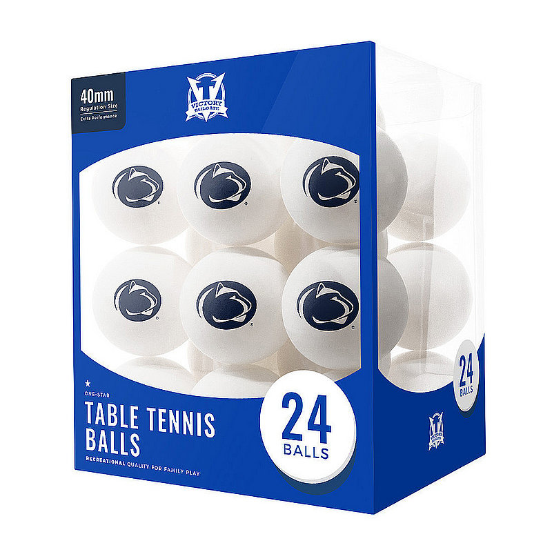 Penn State 24 Count Table Tennis Balls Nittany Lions (PSU)
