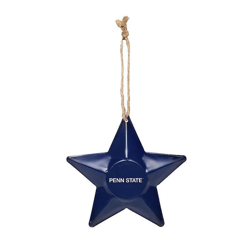 Penn State 3D Metal Star Ornament Nittany Lions (PSU)
