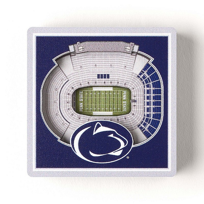 Penn State 3D StadiumView Magnet Nittany Lions (PSU)
