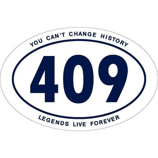 Penn State 409 Wins Joe Pa History Magnet White Nittany Lions (PSU)
