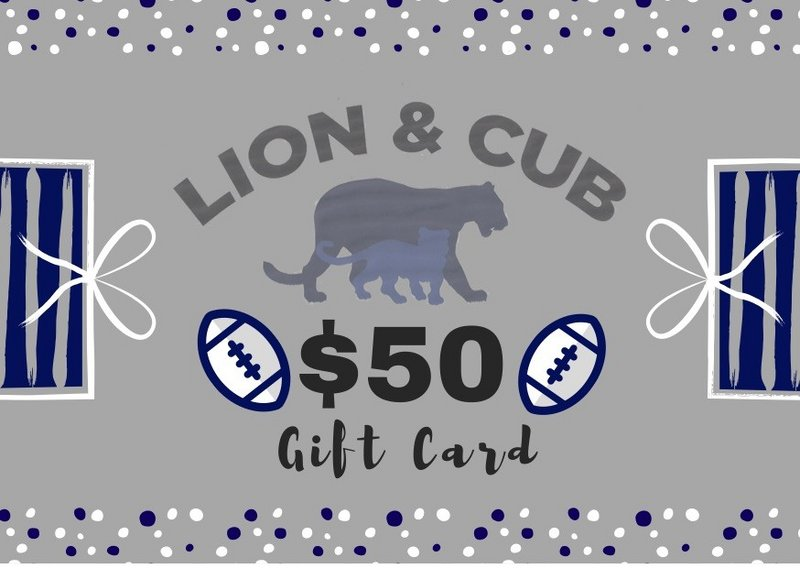 Penn State $50.00 Gift Card Nittany Lions (PSU)