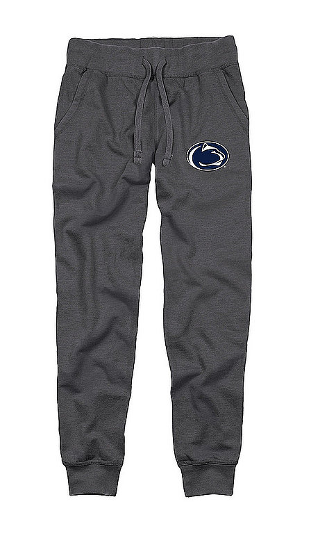 Penn State Adult Burnout Fleece Jogger Pant Heather Charcoal Nittany Lions (PSU)