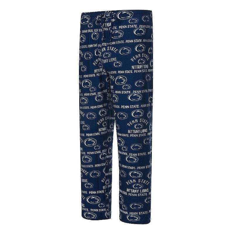 Penn State Allover Mens Super Soft Pajama Pants Nittany Lions (PSU)
