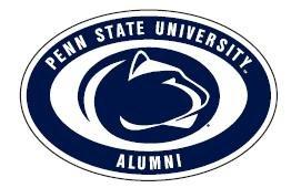 "Penn State Alumni Euro Magnet - 4"" x 6"" Nittany Lions (PSU) PSU056"