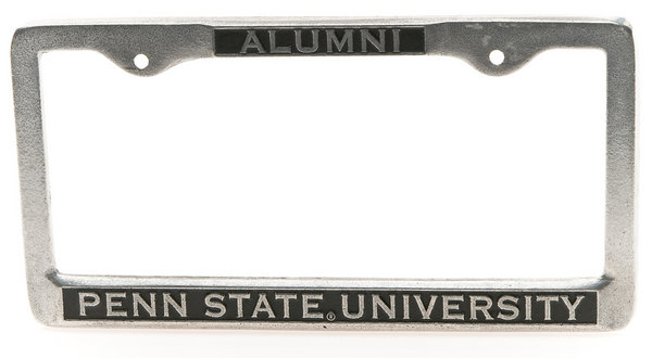 Penn State Alumni Pewter License Plate Frame Nittany Lions (PSU)